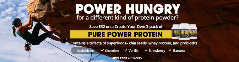 Pure Power Protein Special Offer