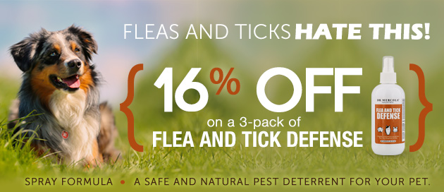 Flea and Tick Defense Special Offer
