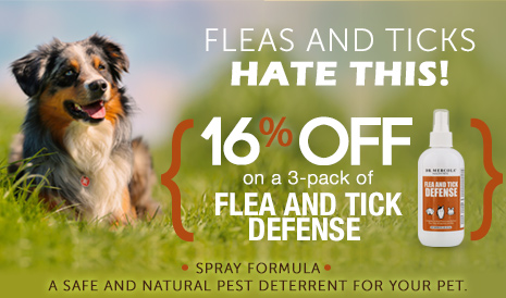 Flea and Tick Defense for Pets Special Offer