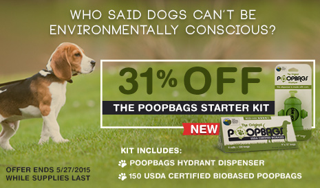 The Original PoopBags Starter Kit for Pets Special Offer