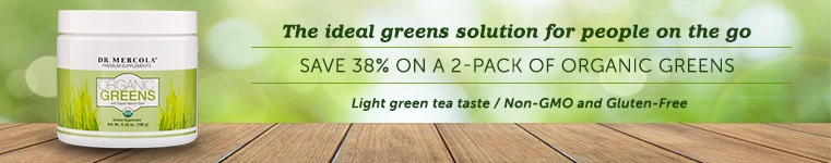 Organic Greens Special Offer