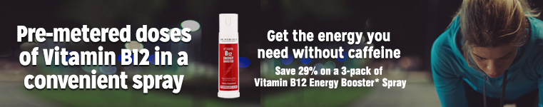 Vitamin B-12 Energy Booster* Spray Special Offer