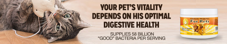 Complete Probiotics for Pets Special Offer