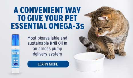 Krill Oil Liquid Pump for Pets Special Offer