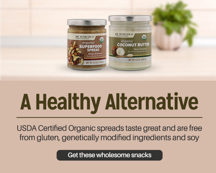 Organic Superfood Spread & Organic Coconut Butter Special Offer Mobile
