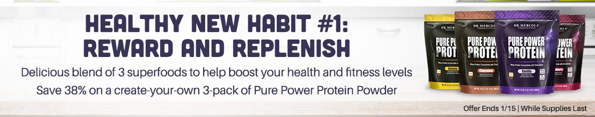 Pure Power Protein Powder Special Offer