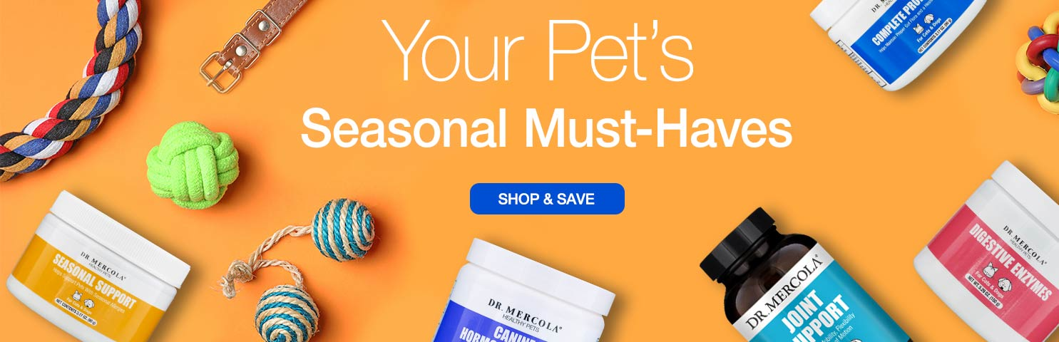 Mercola Pet Seasonal Desktop