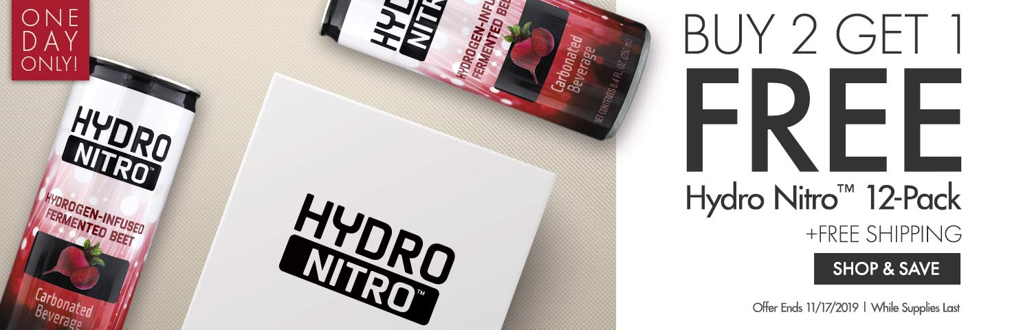 Buy 2 Get 1 Free on Hydro Nitro 12-Pack