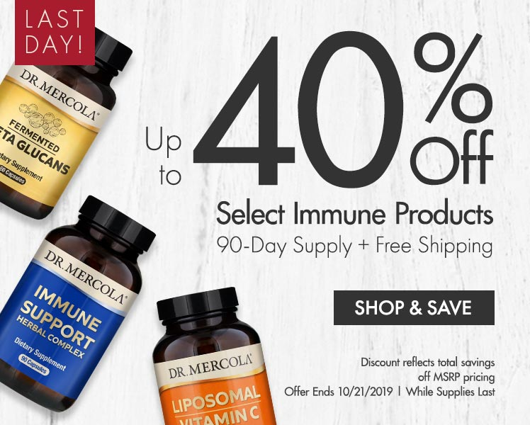 Get Up to 40% Off on Select Immune Products 90-Day Supply