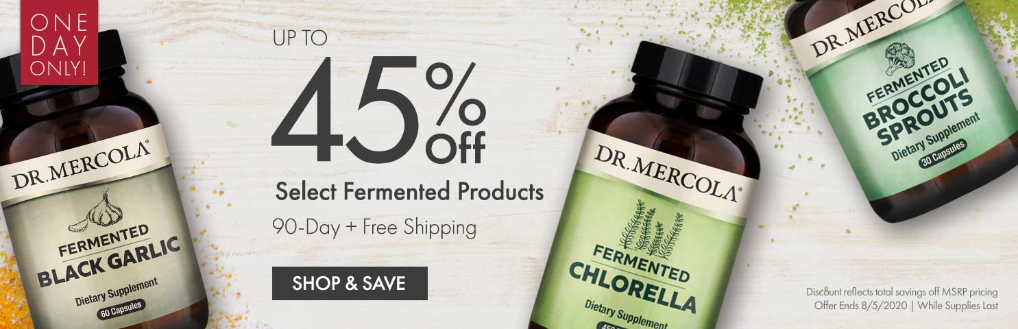 Get Up to 45% Off Select Fermented Products 90-Day
