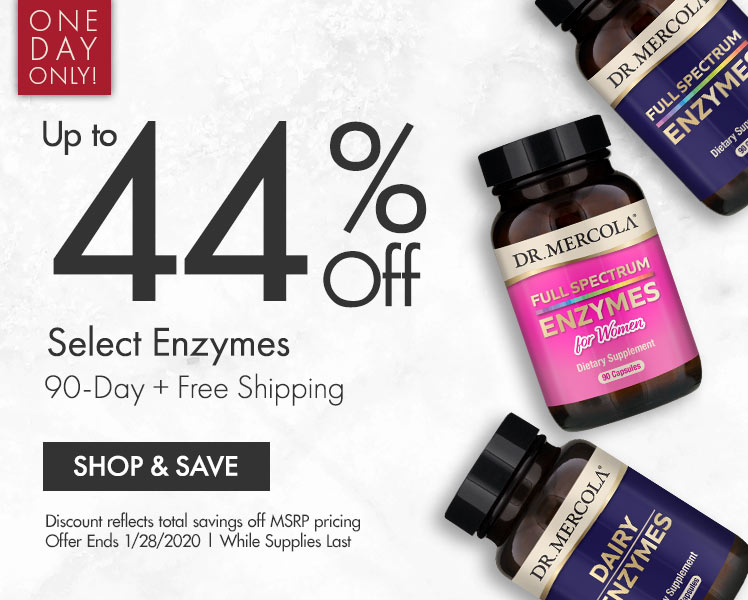 Get Up to 44% Off on Select Enzymes 90-Day