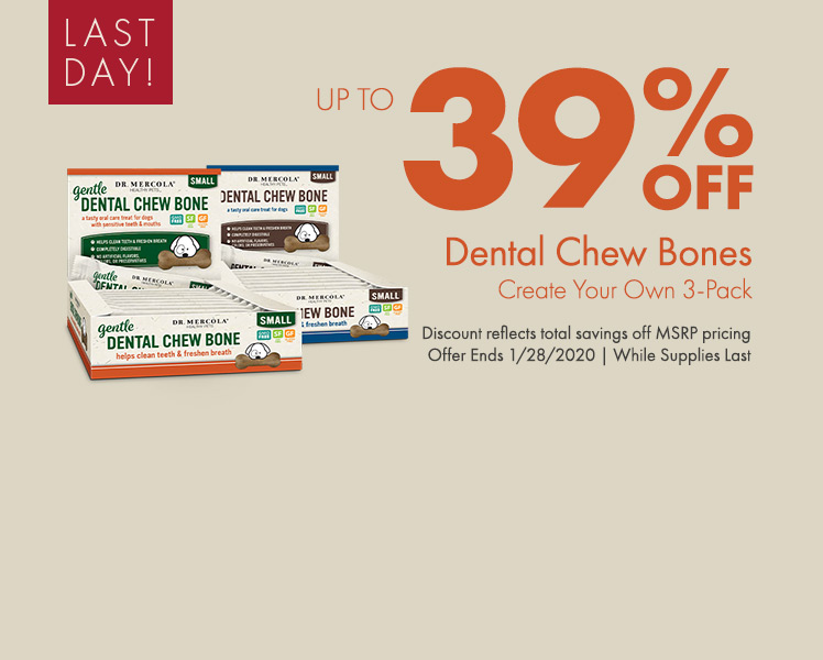 Get Up to 39% off Create Your Own Dental Chew Bones 3-Pack