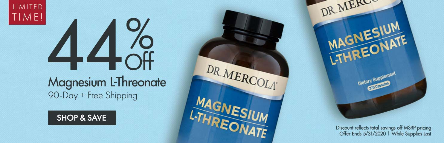 Get 44% Off on Magnesium L-Threonate 90-Day