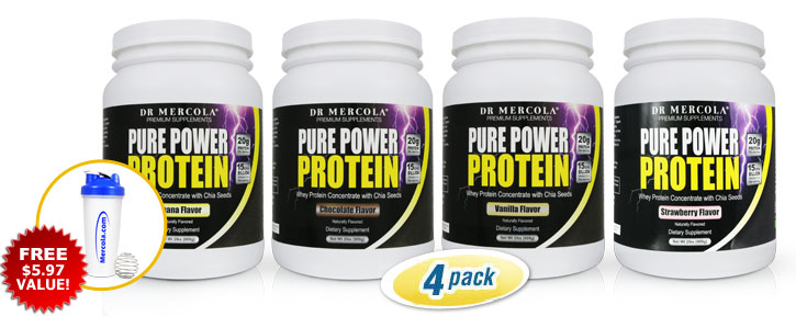 Pure Power Protein 4-Pack Variety