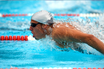 Swimmer Butterfly Race