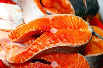 Antioxidantes en salmon