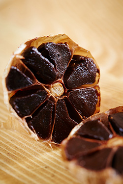 fermented black garlic sweet