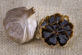 Black Garlic Sweet Taste