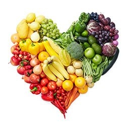 vegetable & fruits diet