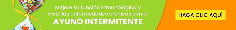 Mejore su función inmunológica y evite las enfermedades crónicas con el ayuno intermitente