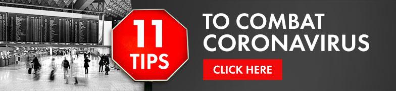 10 Tips to Combat the Coronavirus