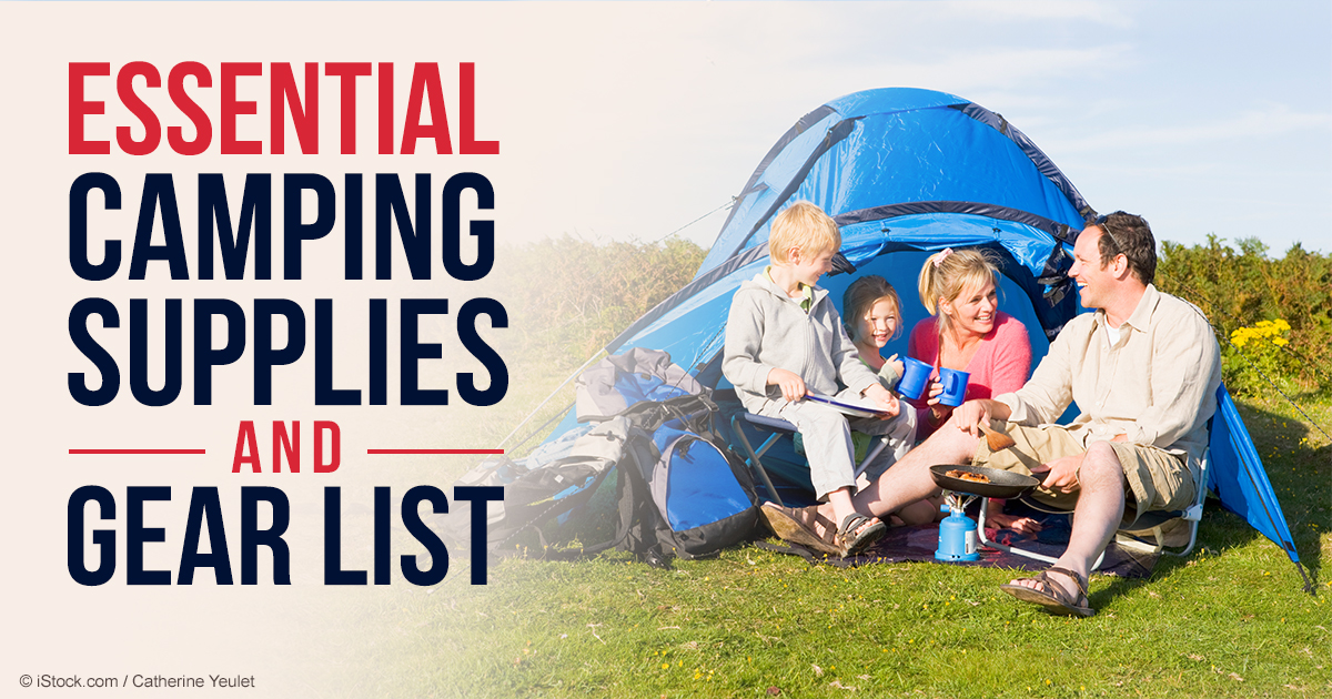 Make the Most Out of Summer with This Camping Checklist