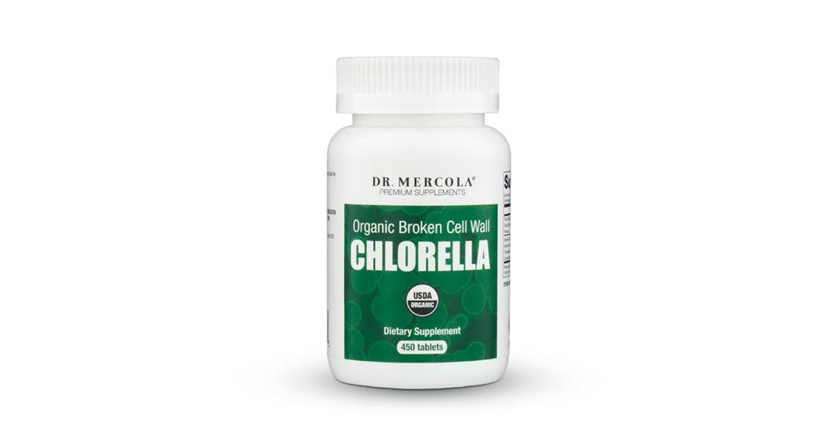 Chlorella Con Los Beneficios De La Clorofila