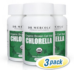 Chlorella 3-Pack