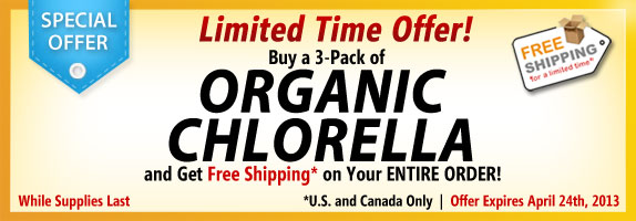 Chlorella Special Offer