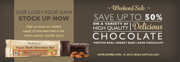 Vegan Dark Chocolate Offer