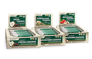 cassava snack bars