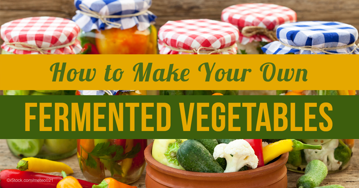 How to Make Your Own Fermented Vegetables