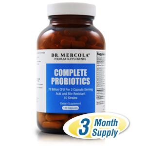 Complete Probiotics - 180 Capsules