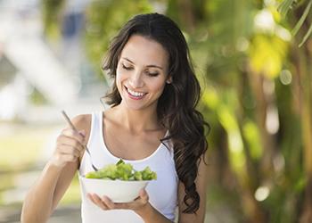 eating fermented vegetables