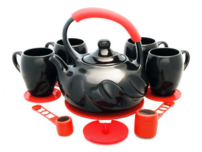 Ceramic Teapot With Infuser Non Toxic Teaware Set