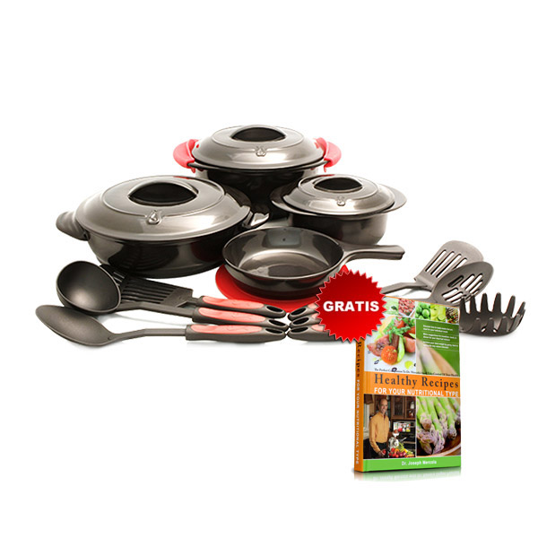 Mercola Healthy Chef 16 Piece Cookware Set