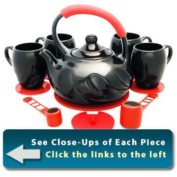 Ceramic Teaware Set