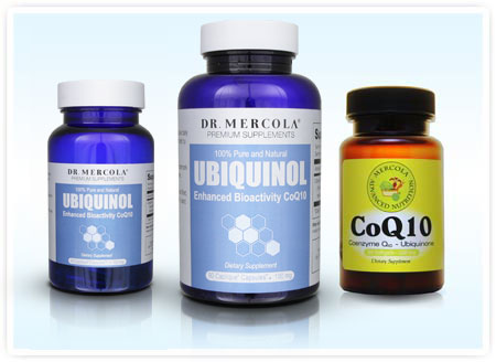 Coenzyme Q10 CoQ10 and Ubiquinol