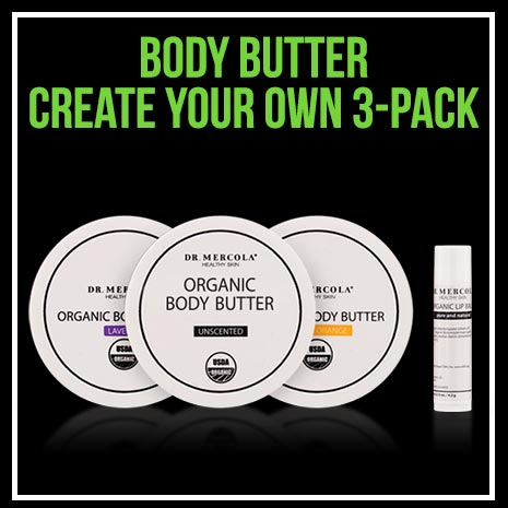 Body Butter Create Your Own 3-Pack