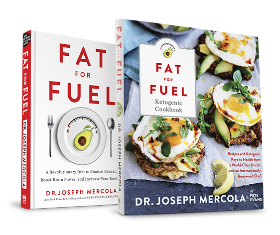 Fat For Fuel Book  & Fat For Fuel Ketogenic Cookbook