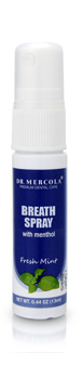 Spray para el Aliento de Mercola Winter Fresh