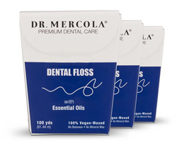 Mercola Natural Dental Floss
