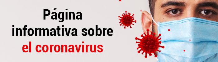 Reciba toda la información sobre el coronavirus