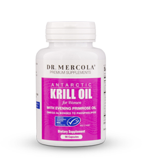 Krill Oil with Evening Primrose Oil for Women