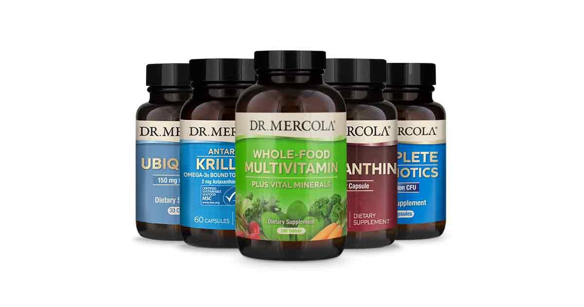 Dr  Mercola's Essential 3 Supplements