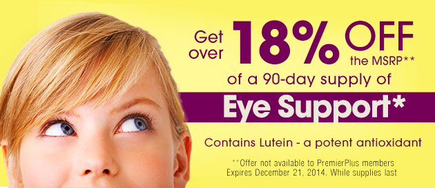 Eye Support Special Offer