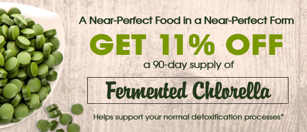 Fermented Chlorella Special Offer