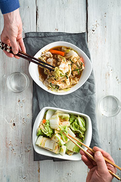 Kimchi—Platillo tradicional de Corea