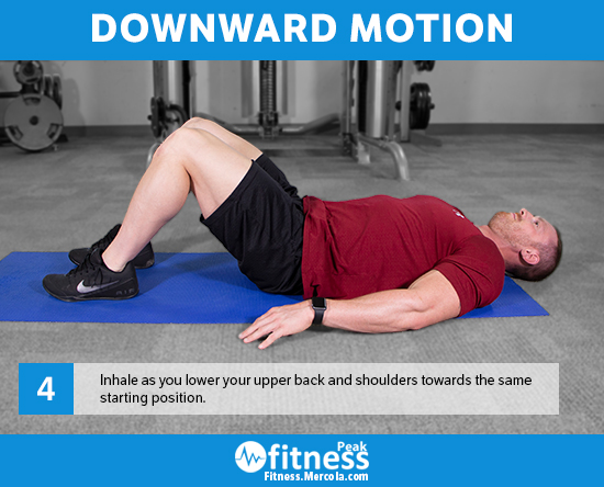 downward motion