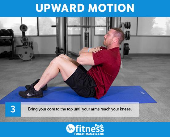 upward motion sit up